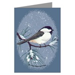 Chickadee Greeting Cards