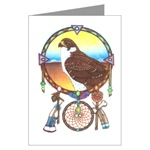 Hawk & Falcon Greeting Cards