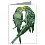 Parakeet Greeting Cards