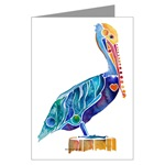 Pelican Greeting Cards