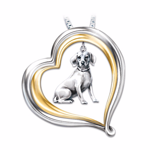 Beagle Loyal Companion Necklace