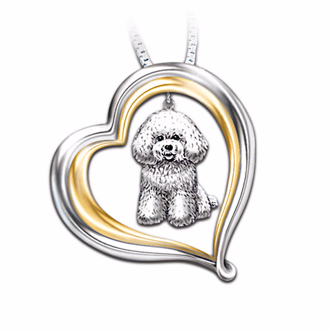 Bichon Frise Loyal Companion Necklace