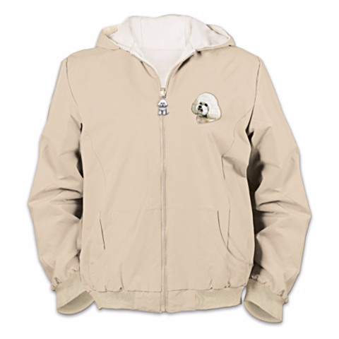 Bichon Frise Loyal Companion Reversible Women's Jacket