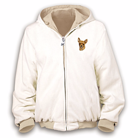 Chihuahua Loyal Companion Reversible Women's Jacket