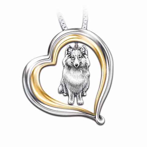 Choose Your Dog Breed Loyal Companion Pendant Necklace