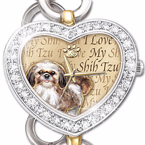 Shih Tzu It's Showtime Women's Watch